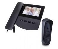 Видеодомофонный комплект DOM D 1B(черный)