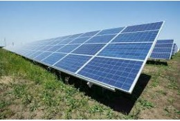Промислова сонячна електростанція в Чорному Острові.