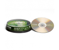 Диск DVD+R TDK 8.5Gb  cake box 10pcs 8x