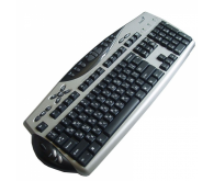 Клавіатура GENIUS KB-21E Scroll PS/2 Metallic CB