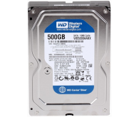 HDD: 500.0g 7200 Serial ATA III WD (WD5000AAKX) 16MB