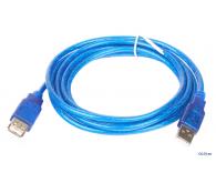 Кабель подовжувач USB 2.0 AM/AF пакет, довжина 3 м., білий
