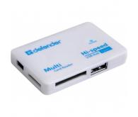 Кардридер DEFENDER картридер+Хаб COMBO TINY USB