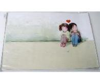 Наклейка на ноутбук Maxxtro 3036, любовь