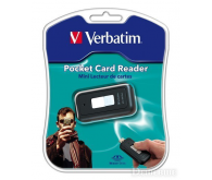 VERBATIM MEMORY STICK POCKET USB2.0 MEMORY CARD READER 47129