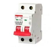 Автоматичний вимикач (подвійний) ENEXT e.mcb.stand.45.2.C16 2р 16А C 4.5 кА