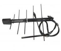 Антена для T2 приймачів, пасивна МВ+ДМВ ES-005