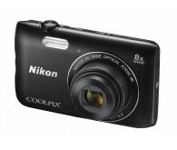 Цифрова фотокамера: Nikon Coolpix A300 Black (VNA961E1)