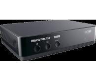 Цифровий TV-тюнер World Vision T60M \ DVB-T2  Виконання: зовнішнє \ Тип підключення: автономне