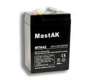 Акумуляторна батарея Mastak 6V 4.2Ah ( 70x40x101 ) 0.72кг