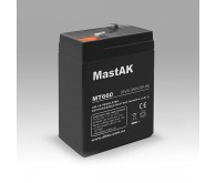 Акумуляторна батарея Mastak 6V 6.0Ah ( 70x40x101 ) 0.86кг