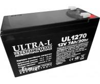 Акумуляторна батарея ULTRA-L UL1270 (12V 7.0Ah)