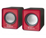 Акустична система DEFENDER 2.0 SPK 22 2х2,5W USB червоний
