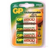 Акумулятор GP Rechargeable AA 2500mAh