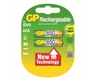 Акумулятор GP Rechargeable AAA/HR6 650mAH(C2)