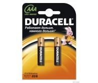 Батарейка DURACELL LR03 MN2400 (ААА) по 2 шт