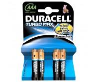 Батарейка DURACELL Turbo Max AAA/LR03 (C4)