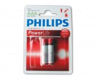 Батарейка PHILIPS Life AAA/LR03 (C2)