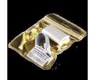 Зарядний пристрій LP АС-005 USB 5V 1A + кабель USB - Lighting (Білий) /ОЕМ