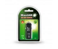 Блок Живлення MastAK MF-12 USB авто-адаптер 2100mAh