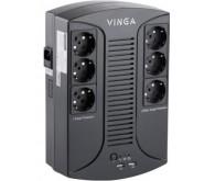 Блок безперебійного живлення Vinga 600VA-PU, 2USB*5V /1A (VPP-600U)