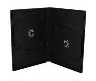 Бокс для 2-DVD диска 9мм чорний глянцевий