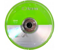 Диск CD-R ARENA 52x 700Mb Bulk 50