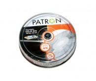 Диск CD-R PATRON 700MB 52x, Cake 100pcs