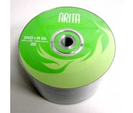 Диск Arita DVD+R 8,5Gb DL 8x 50 pcs