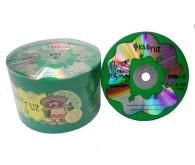 Диск DVD-R KAKTUZ 4,7Gb 16x Bulk 10 pcs