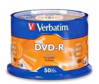 Диск VERBATIM DVD-R 4,7Gb 16x 50 pcs 43548