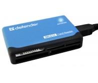 DEFENDER ULTRA USB 2.0, универс. черный+син