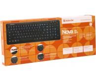 Клавиатура DEFENDER Nova SM-680L подсв. Black