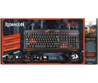 Клавиатура DEFENDER REDRAGON Xenica gamer чорна