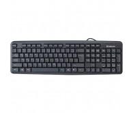 Клавіатура DEFENDER Element  HB-520 сіра PS/2