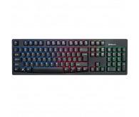 Клавіатура REAL-EL 7000 Comfort Backlit, black з підсвіткою
