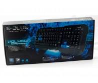 E-BLUE Polygon EKM075BKR Gaming USB black