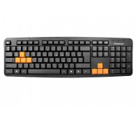 Клавіатура FrimeCom FC-838-USB BLACK+ ORANGE
