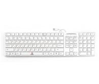 Клавіатура Gresso GK-2028 USB White/Silver