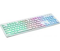 Клавіатура REAL-EL 7070 Comfort Backlit, white з підсвіткою