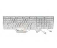 LogicPower KM 102 Combo white USB