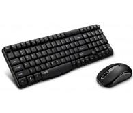 Комплект (клавіатура + миша) Rapoo X1800S Wireless, Black