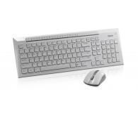 Комплект (клавиатура+мышь)  Rapoo 8200p White
