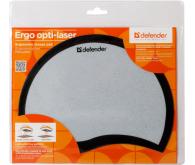 Килимок DEFENDER Ergo opti-laser Black пластиковий