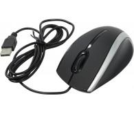 Миша DEFENDER MM-340 чорний+сірий