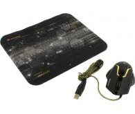 Миша DEFENDER Warhead MP-1400 комплект килимок + миша