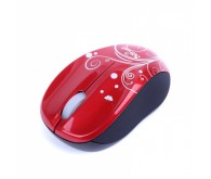Миша TRUST VIVY Wireless Mini Mouse red Swirls