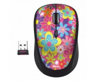 Миша TRUST Yvi Wireless Mini Mouse flower power