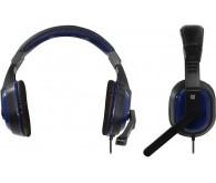 Гарнітура DEFENDER Warhead G-190 2,5м, чорний+синій