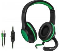 Гарнітура DEFENDER Warhead G-200 2m чорний+зелений